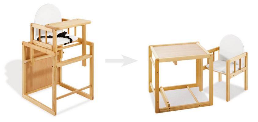PINOLINO Chaise Haute Transformable Nele