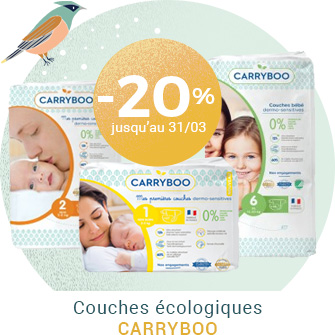 Couches écologiques Carryboo