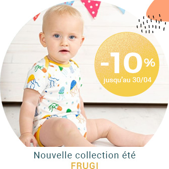 Collection Printemps Eté Frugi à -10%