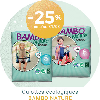 Culottes d\'apprentissage Bambo Nature