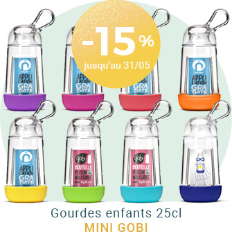 -15% sur les gourdes made in France Gobi