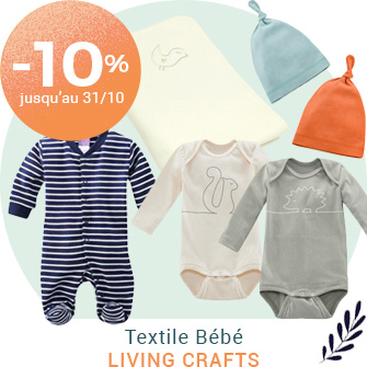 Tout le textile Living Craft à -10%