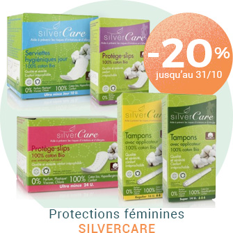 -20% sur les protections intimes Silvercare