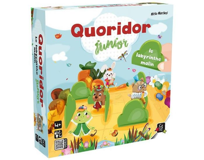 GIGAMIC Quoridor Junior - Dès 4 Ans