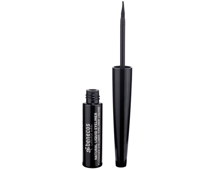 BENECOS Eye Liner Liquide Naturel - Noir - 3 ml