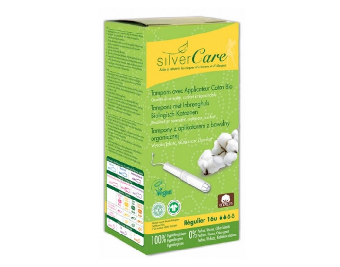 SILVERCARE Tampons Normal Avec Applicateur - Boite de 16