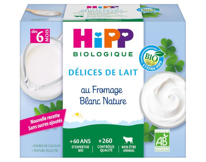 07d304491a2320 Fromage Blanc Nature Sucré HIPP