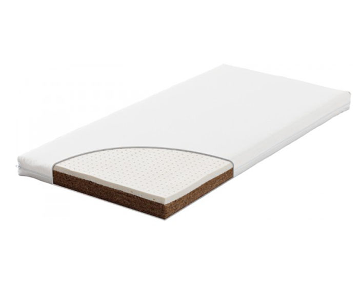 matelas latex vario bio en fibres de coco latex laine et coton bio traumeland. Black Bedroom Furniture Sets. Home Design Ideas