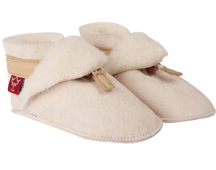 chaussons bb cuir fourrs en peau d 39 agneau kaiser. Black Bedroom Furniture Sets. Home Design Ideas