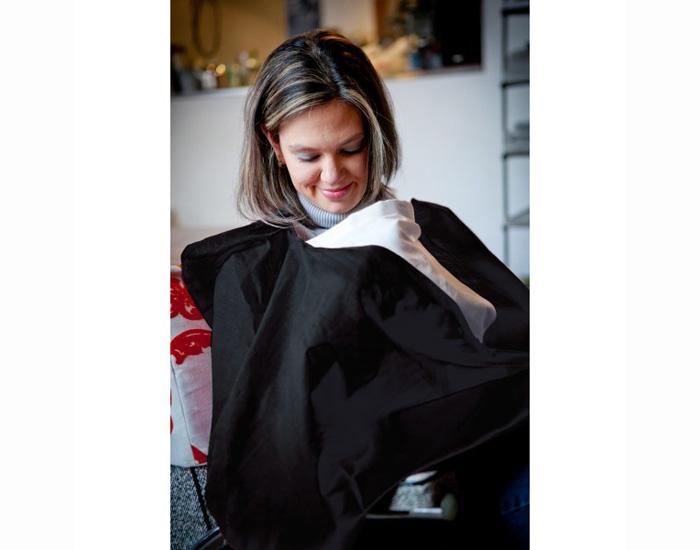 acheter pas cher dessin de mode nouveau design Cape d'Allaitement - Noir