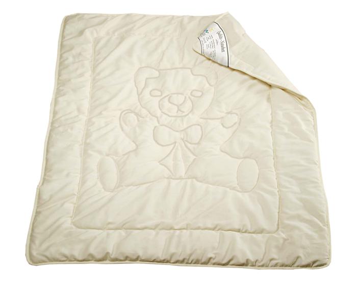 couette en laine et coton bio 100 x 135 cm fine saling. Black Bedroom Furniture Sets. Home Design Ideas