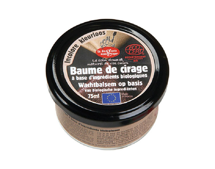 LA DROGUERIE ECOPRATIQUE Baume de Cirage Incolore - 75 ml