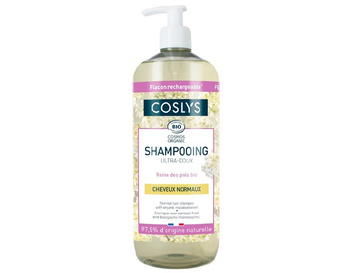 COSLYS Shampooing Cheveux Normaux - Ultra Doux 1 L