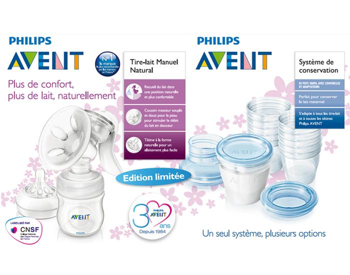 kit allaitement tire lait et systme de conservation via avent. Black Bedroom Furniture Sets. Home Design Ideas