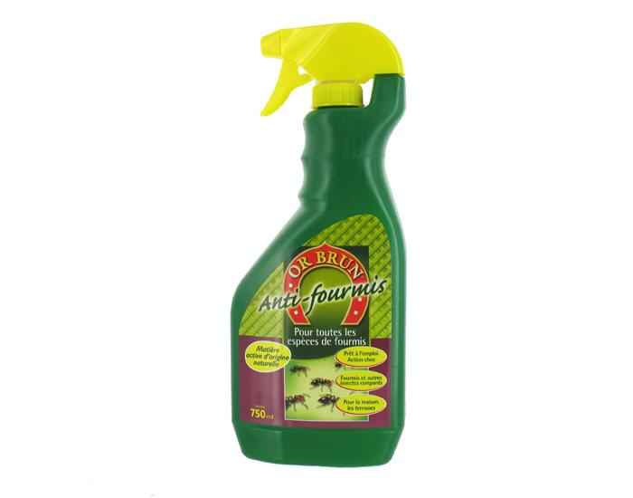 Anti fourmis or brun for Anti fourmis maison