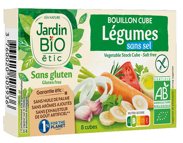 Bouillon cube lgumes sans sel ajout sans huile de palme for Au jardin des sans pourquoi translation