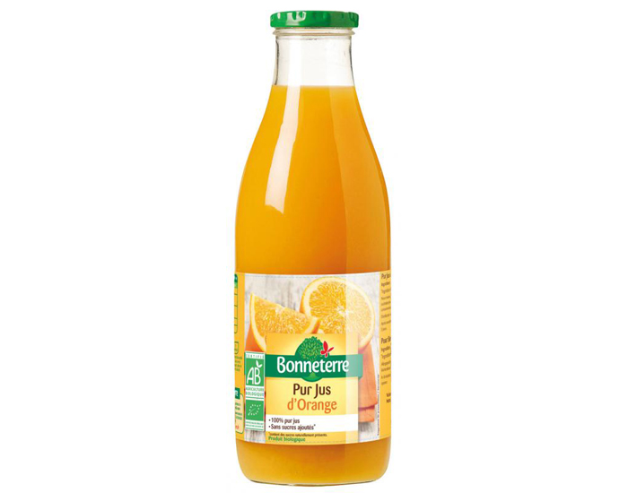 Pur Jus D Orange Bonneterre