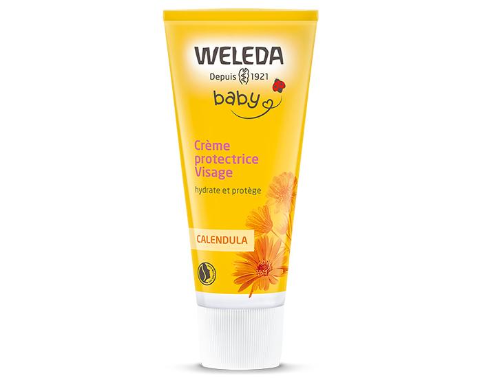 99657959708 Bébé Crème Protectrice Visage WELEDA