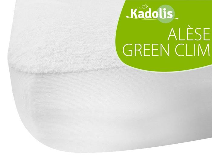 Kadolis Al/èse B/éb/é Coton Bio 40X80 cm Blanc