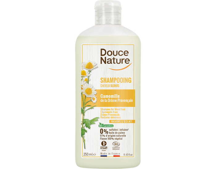 DOUCE NATURE Shampooing Cheveux Blonds - 250 ml