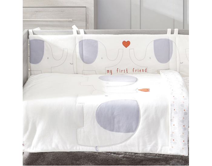 tour de lit en coton bio natures purest. Black Bedroom Furniture Sets. Home Design Ideas