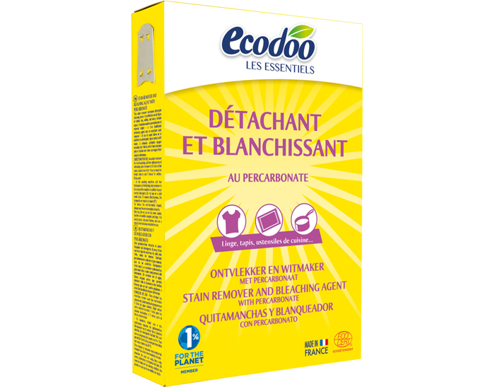 ECODOO Détachant-Blanchissant au Percarbonate - 350 g