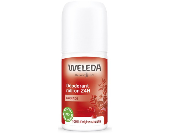 WELEDA Déodorant Roll-On 24h - Grenade - 50 ml