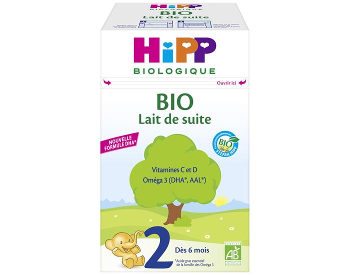 d3c55f17f69c59 Lait de Suite Bio 2 Dès 6 Mois 800g HIPP