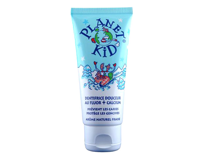 PLANET KID Dentifrice Douceur Fluor et Calcium - D�s 3 ans - 50 ml