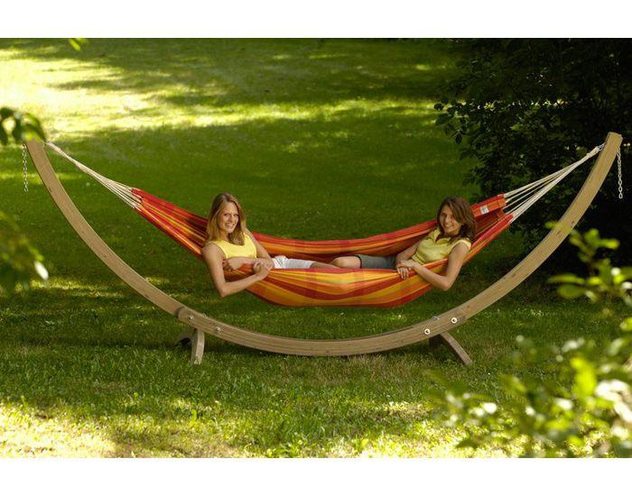 amazonas set hamac support en bois olymp. Black Bedroom Furniture Sets. Home Design Ideas