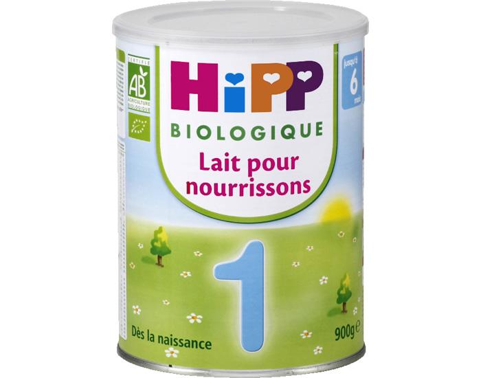 67ac87ce741ef2 HIPP Lait pour Nourrisson 1 - de 0 à 6 mois - 900 g
