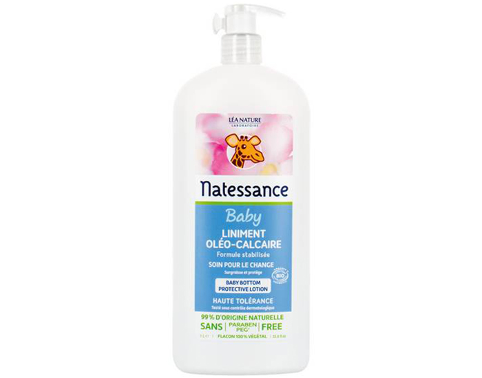 NATESSANCE Pack x2 Liniment Oléo Calcaire - 1L  Lot de 2