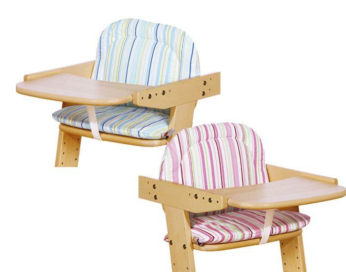 Pinolino coussin pour chaise haute philip for Coussin epais pour chaise