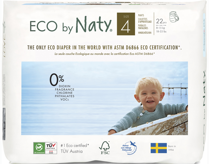 NATY Culottes d'Apprentissage Jetables ECO
