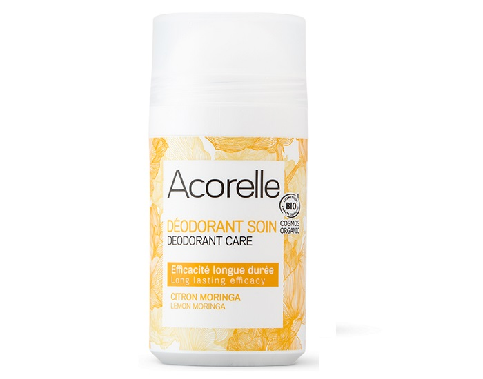 ACORELLE Déodorant Roll-on Citron Moringa - 50ml