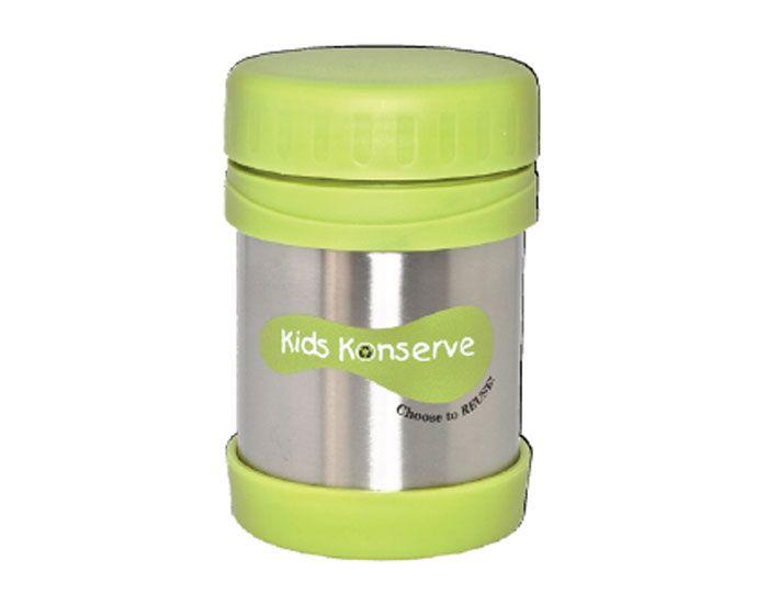 kids konserve box alimentaire isotherme vert 355 ml. Black Bedroom Furniture Sets. Home Design Ideas