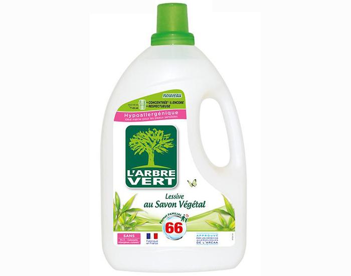 lessive concentre au savon vgtal l 39 arbre vert. Black Bedroom Furniture Sets. Home Design Ideas