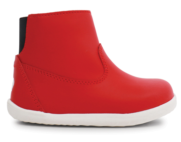 BOBUX Bottes Bébé Step Up Paddington Imperméables Doublure Mérinos - Red 21