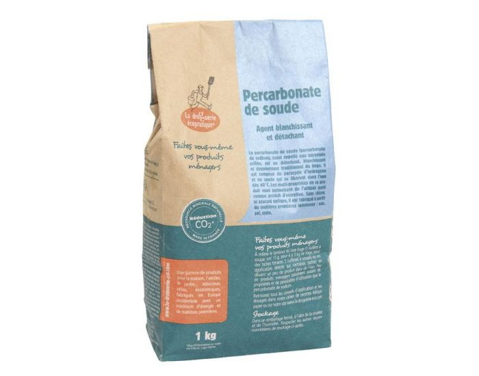 La Droguerie Ecopratique - Percarbonate de Soude - Détachant, 1 Kg