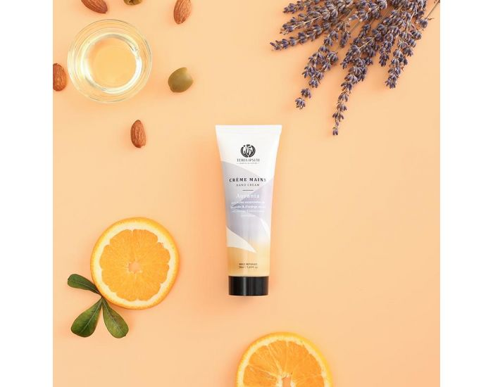 TERRA IPSUM Crème Mains Protectrice Lavandin-Orange