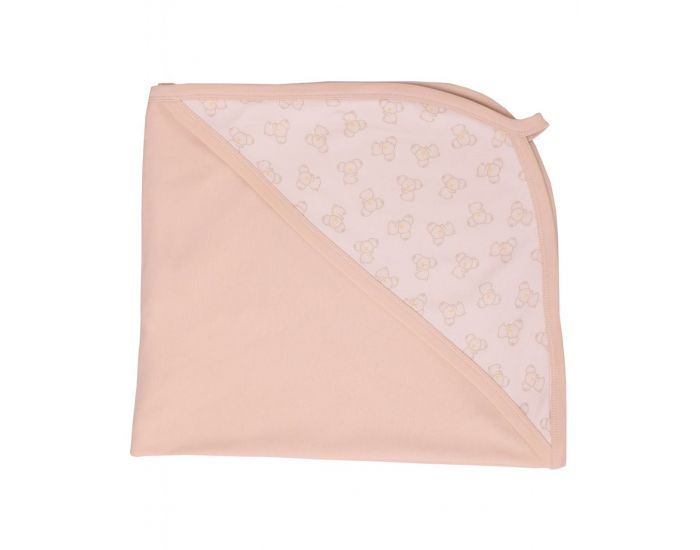 BEBESEO Couverture Bio Bunny 120x120cm Girl