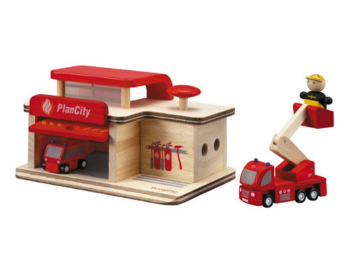 plan toys caserne de pompiers ds 3 ans. Black Bedroom Furniture Sets. Home Design Ideas