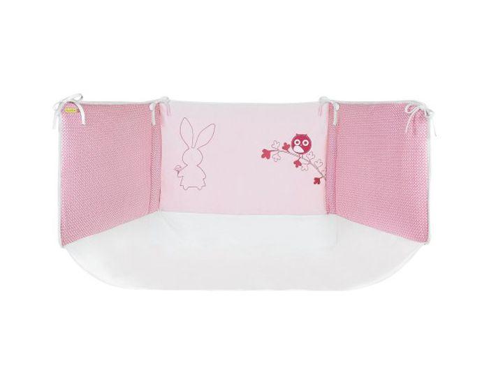 sucre d'orge tour de lit rose