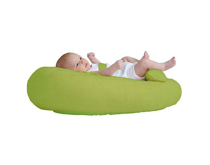 housse nid cle bb vert pomme pour coussin d 39 allaitement. Black Bedroom Furniture Sets. Home Design Ideas