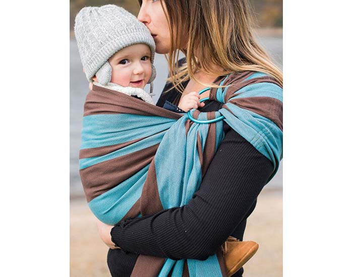 Bulline - Echarpe Porte-bébé avec Anneau