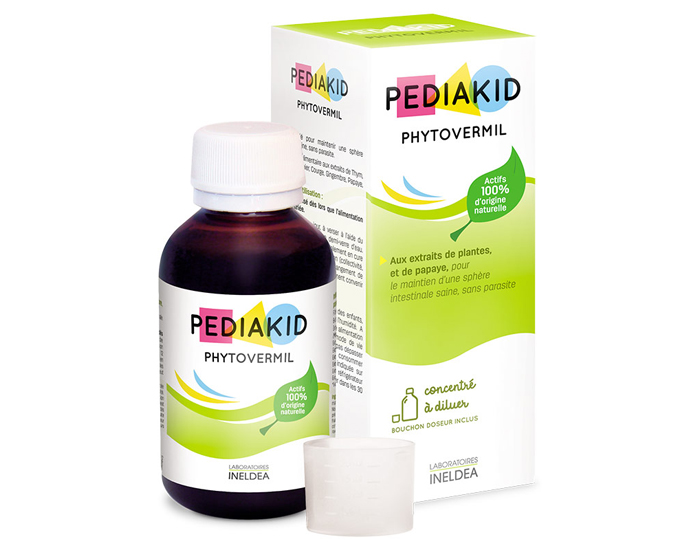PEDIAKID Complément Alimentaire Phytovermil - 125 ml