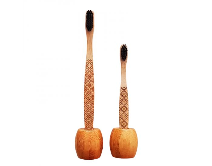 AKOYA Support Brosse à Dents Bambou (1)