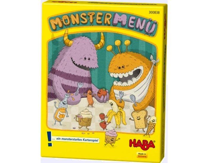 HABA Monster menu - Dès 6 ans (1)