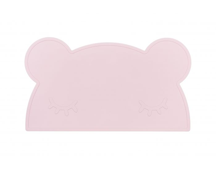 WE MIGHT BE TINY Grand set de table silicone - ours (1)