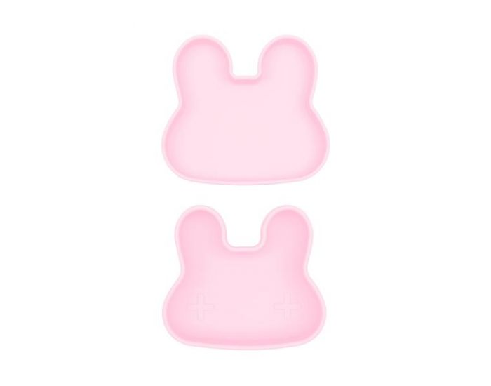 WE MIGHT BE TINY Boite à Goûter silicone - Lapin Rose (1)